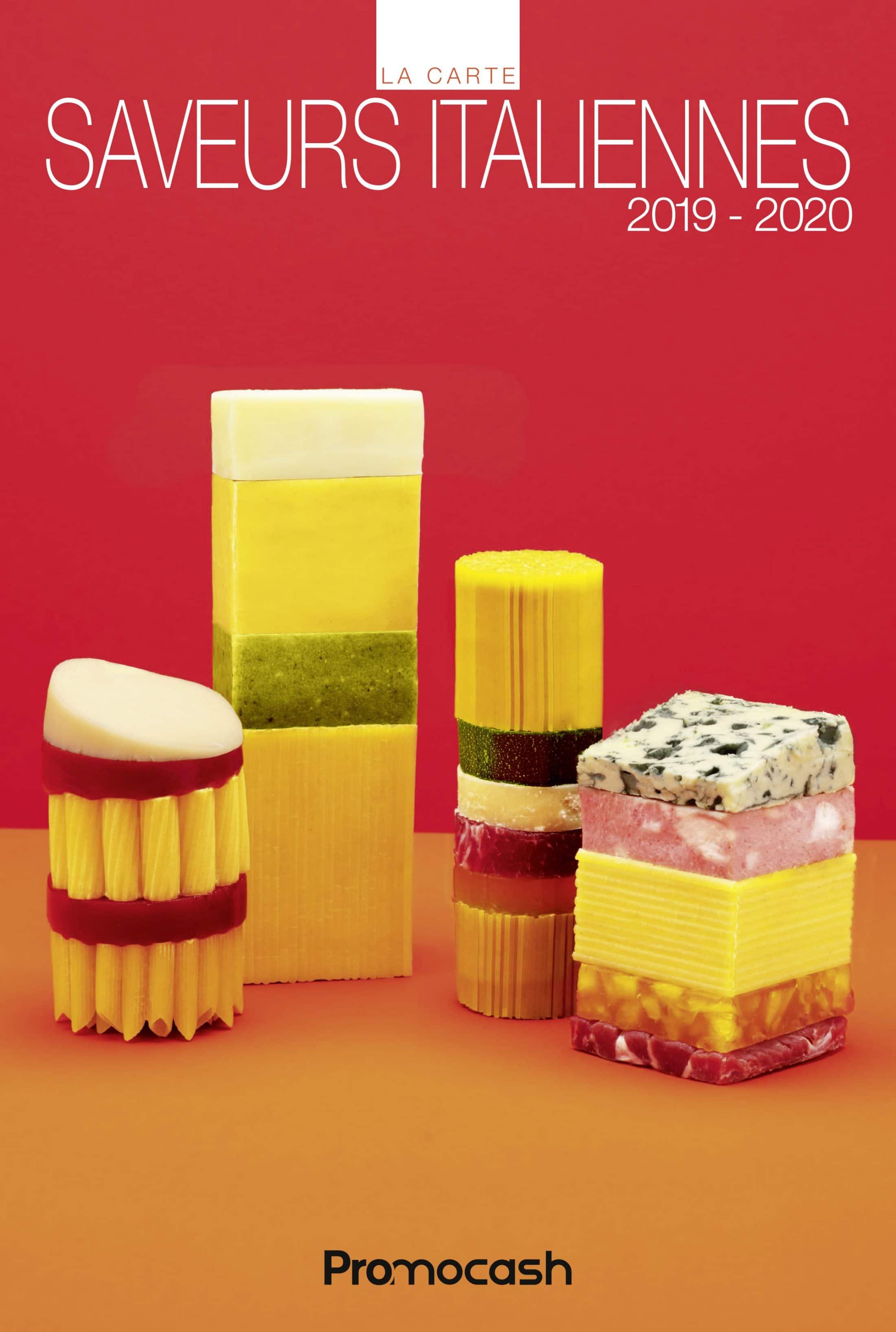 Carte des saveurs italiennes 2019-2020