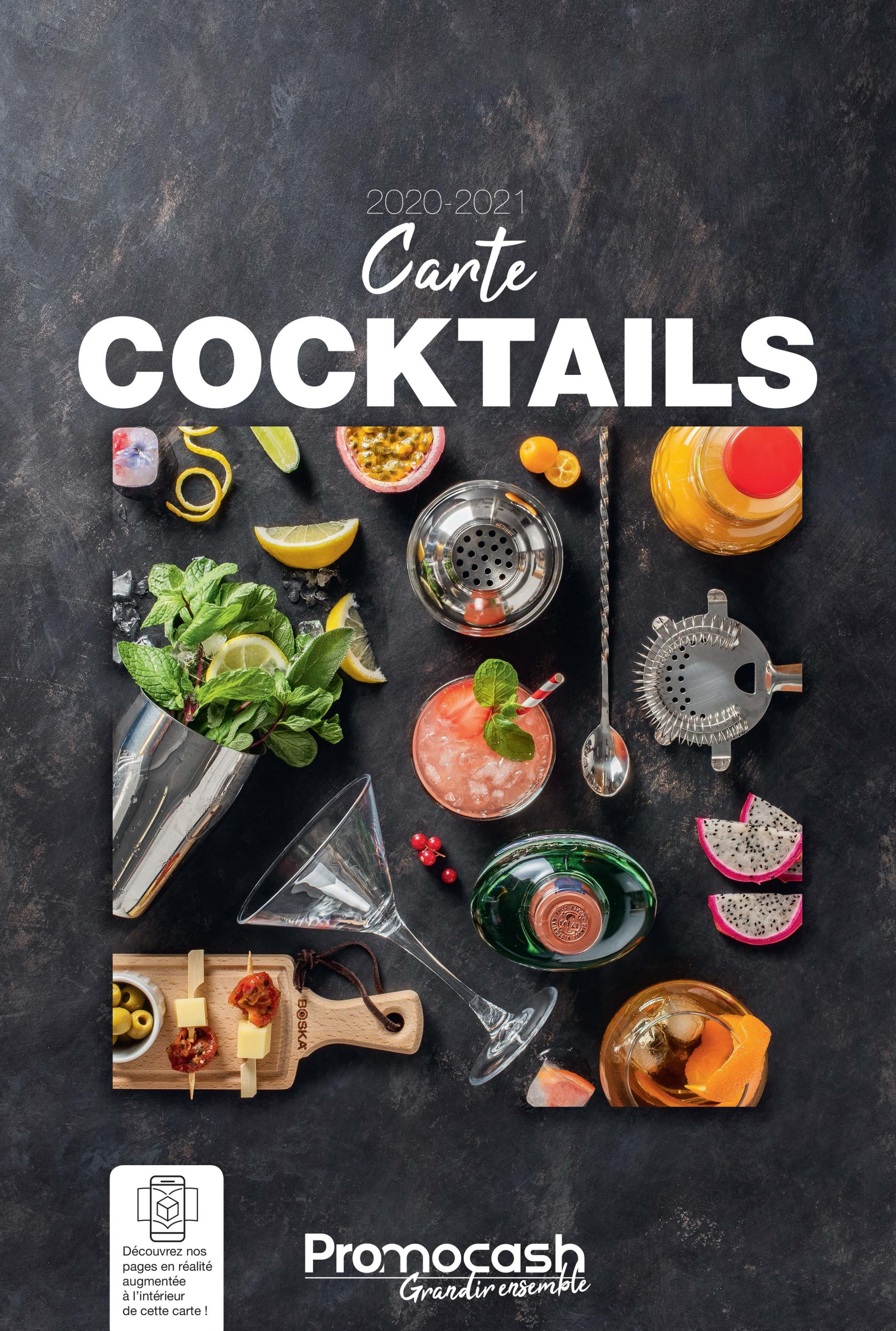 CARTE DES COCKTAILS 2020-2021