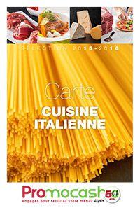 Carte cuisine italienne