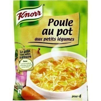 Soupe déshydratée poule au pot aux petits légumes 72 g - Epicerie Salée - Promocash Anglet