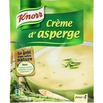 Soupe deshydratée Crème asperges KNORR - le sachet pour 4 assiettes - Epicerie Salée - Promocash Anglet