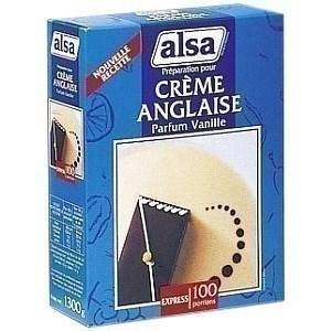 Préparation pour Crème anglaise parfum vanille ALSA - la boite 1.3kg pour 100 portions - Epicerie Sucrée - Promocash Anglet