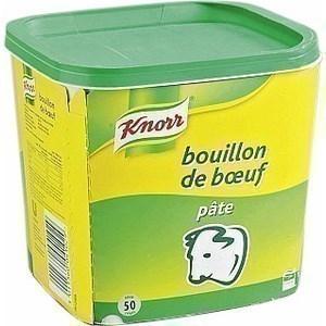 Bouillon de  Boeuf Gastronomique KNORR - la boîte de 1 kg - Epicerie Salée - Promocash Anglet