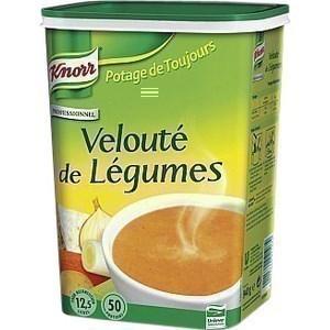 Velouté aux légumes KNORR - la boîte de 925 g pour 12.5 l de préparation - Epicerie Salée - Promocash Anglet
