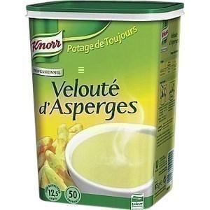 Velouté d'asperges KNORR - la boite de 950 g pour 12.5l de préparation - Epicerie Salée - Promocash Anglet