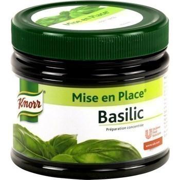 Basilic 340 g - Epicerie Salée - Promocash Millau