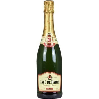 Blanc de Blancs brut Café de Paris 11,5° 75 cl - Vins - champagnes - Promocash Le Havre