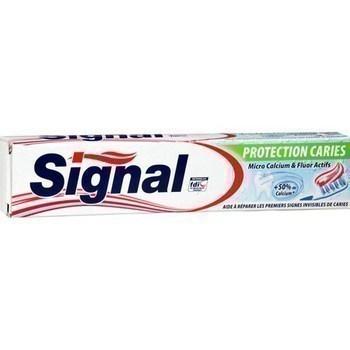 Dentifrice micro calcium & fluor actifs 75 ml Signal Protection Caries - Hygiène droguerie parfumerie - Promocash Millau
