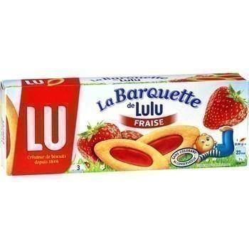 Barquette Fraise LU - le paquet 120g - Epicerie Sucrée - Promocash Anglet