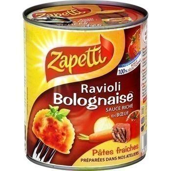 Ravioli bolognaise - Epicerie Salée - Promocash Chambéry