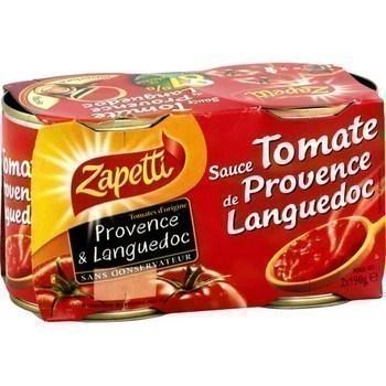 Sauce tomate de Provence Languedoc 2x190 g - Epicerie Salée - Promocash Brive