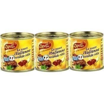 La Sauce Italienne à la viande rôtie 3x95 g - Epicerie Salée - Promocash Antony