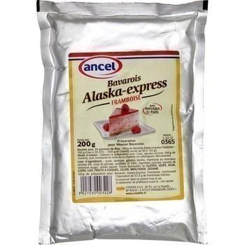 Bavarois Alaska-express framboise 200 g - Epicerie Sucrée - Promocash Périgueux