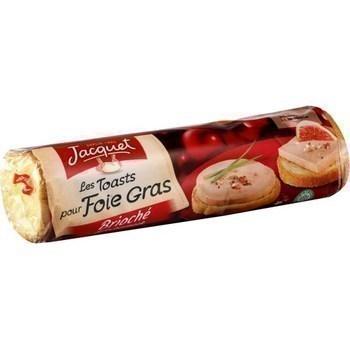 Les Toasts pour Foie Gras brioché x36 - Pains et viennoiseries - Promocash Avignon