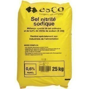 Sel nitrite sodique - le sachet de 25 kg - Epicerie Salée - Promocash Antony