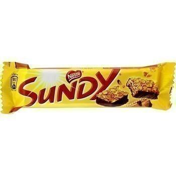 SUNDY - la barre de 36 g - Epicerie Sucrée - Promocash Anglet