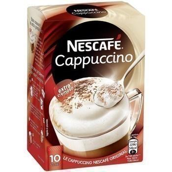 Sticks de Cappuccino 10x14 g - Epicerie Sucrée - Promocash Brive