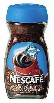 Café soluble sélection tasse rouge décaféïné NESCAFE - le bocal 200g - Epicerie Sucrée - Promocash Anglet
