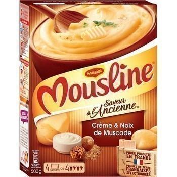 Purée crème & noix de muscade 4x125 g - Epicerie Salée - Promocash Chambéry