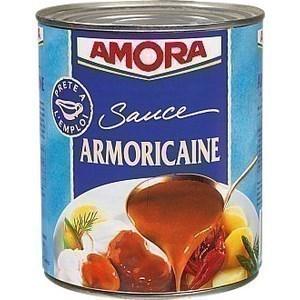 Sauce Armoricaine AMORA - la boîte 4/4 - Epicerie Salée - Promocash Anglet
