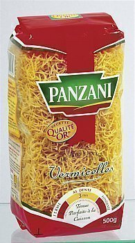 Vermicelle moyen PANZANI - le paquet 500g - Epicerie Salée - Promocash Anglet