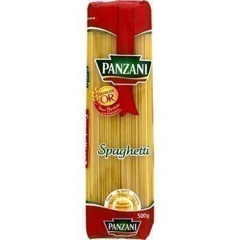 Spaghettis PANZANI - le paquet de 500 g - Epicerie Salée - Promocash Anglet