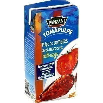 Pulpe de tomates avec morceaux multi-usages 2 kg - Epicerie Salée - Promocash Bourgoin