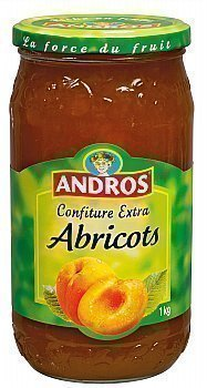 Confiture d'Abricot ANDROS - le bocal de 1 kg - Epicerie Sucrée - Promocash Anglet