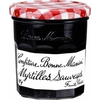 Confiture myrtilles sauvages 370 g - Epicerie Sucrée - Promocash Anglet