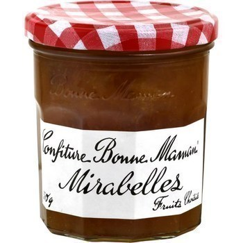 Confiture mirabelles 370 g - Epicerie Sucrée - Promocash Anglet