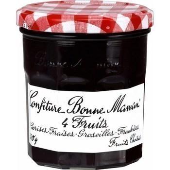 Confiture extra 4 fruits 370 g - Epicerie Sucrée - Promocash Anglet