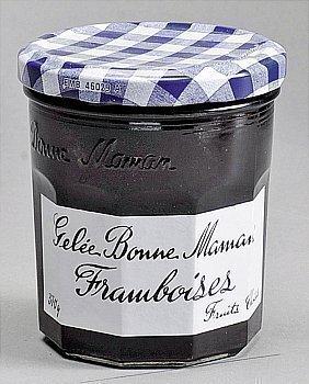 Gelée framboise BONNE MAMAN - le bocal de 370 g - Epicerie Sucrée - Promocash Anglet