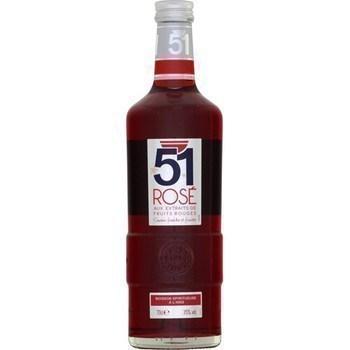 51 rosé aux extraits de fruits rouges - Alcools - Promocash Périgueux