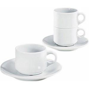 Tasse petit déjeuner Fluto 28 cl - le lot de 7 - Bazar - Promocash Antony