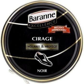 Cirage pour cuir noir Premium - la boîte de 100 ml - Hygiène droguerie parfumerie - Promocash Bourgoin