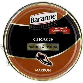 Cirage pour cuir marron Premium - la boîte de 100 ml - Hygiène droguerie parfumerie - Promocash Bourgoin