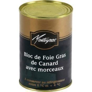Bloc de foie gras de canard avec morceaux 400 g - Charcuterie Traiteur - Promocash Castres
