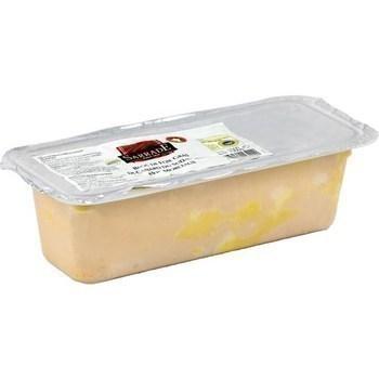 Bloc de foie gras de canard du Sud-Ouest avec morceaux IGP 1000 g - Charcuterie Traiteur - Promocash Thonon