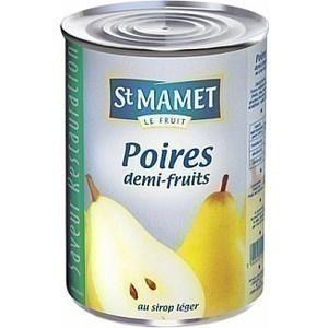 Poire william entière sirop ST MAMET - la boite 5/1 - Epicerie Sucrée - Promocash Anglet