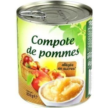 Compote de pommes allégée en sucres 850 g - Epicerie Sucrée - Promocash Albi