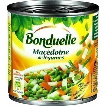 Macédoine de légumes + 50% de légumes verts 265 g - Epicerie Salée - Promocash Anglet