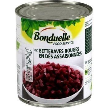 Betteraves rouges en dés assaisonnées 530 g - Epicerie Salée - Promocash Orleans