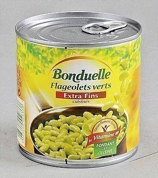 Flageolets EF BONDUELLE - la boite 1/2 - Epicerie Salée - Promocash Anglet