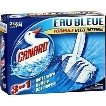 Blocs Cuvettes Coul. CANARD WC - le lot de 2 pièces - Hygiène droguerie parfumerie - Promocash Anglet