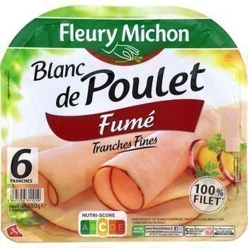 Blanc de poulet fumé tranches fines x6 - Charcuterie Traiteur - Promocash LA FARLEDE