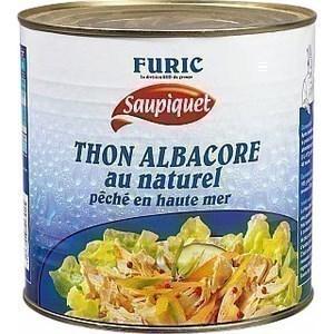 Thon Albacore au naturel FURIC - la boite 3/1 - Epicerie Salée - Promocash Anglet