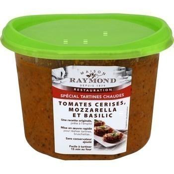 Tomates cerises mozzarella et basilic 750 g - Charcuterie Traiteur - Promocash Gap