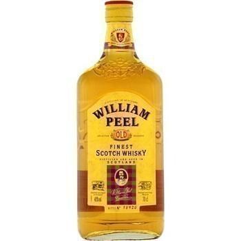 Whisky WILLIAM PEEL Old 40 % V. - la bouteille de 70 cl. - Alcools - Promocash Anglet