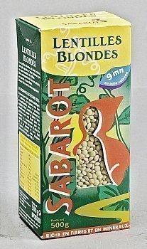 Lentilles blondes - la boîte de 500 g - Epicerie Salée - Promocash Millau