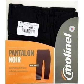 Pantalon cuisinier taille 54 noir - Bazar - Promocash Promocash Reims
